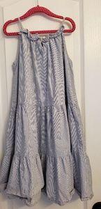 Oshkosh striped girls 7 summer dress